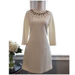 Eliza J dress with stone embroidery